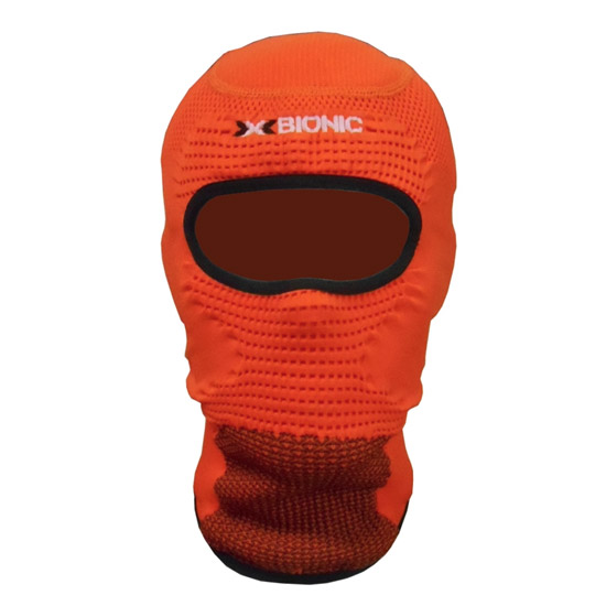 Balaclava X-Bionic Soma Eye - Orange
