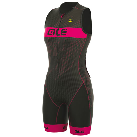 Body Ale Tri Record Zip Front - Pink