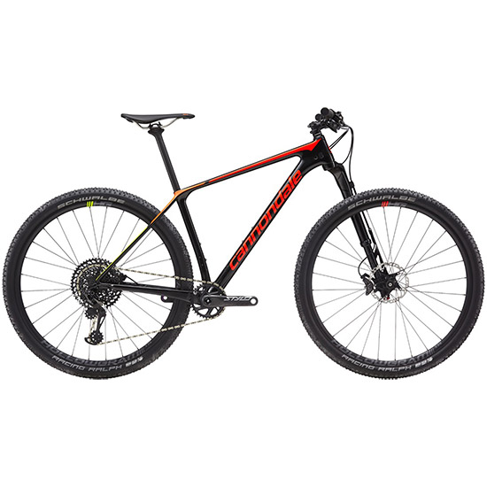 Cannondale F-Si 2019 Carbon 2 - Noir orange