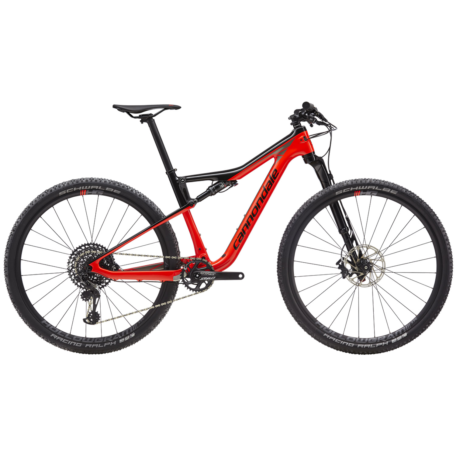 Cannondale Scalpel-Si Carbon 3 2019 - Rouge acid