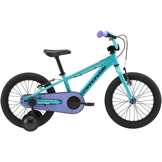 Cannondale Trail 16 Single-Speed Girl's - Turquoise