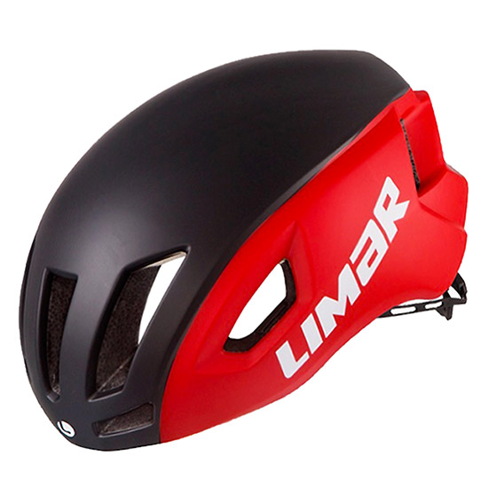 Casque Limar Air Speed - Noir matte rouge