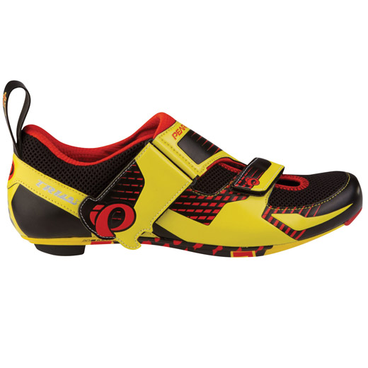 Chaussures Pearl Izumi Tri Fly Carbon - Jaunes