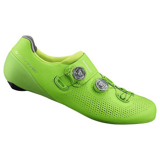 Chaussures Shimano S-Phyre RC9 2019 - Vert