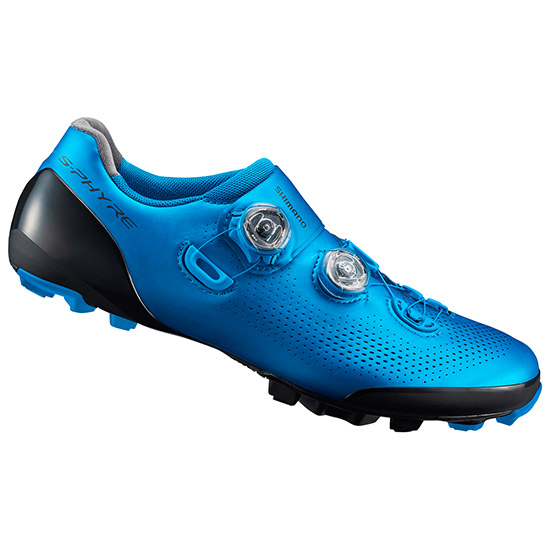 Chaussures Shimano S-Phyre XC9 2019 - Bleu