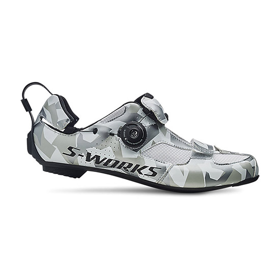 Chaussures Specialized S-Works Trivent - Blanc Camo