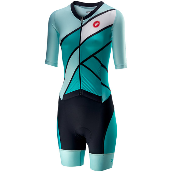 Combinaisons Castelli All Out Speed Suit - Turquoise
