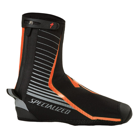 Couvre chaussures Specialized Deflect Pro 2017 - Neon Orange