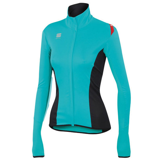 Fiandre Light Norain Top Sportful - Turquoise