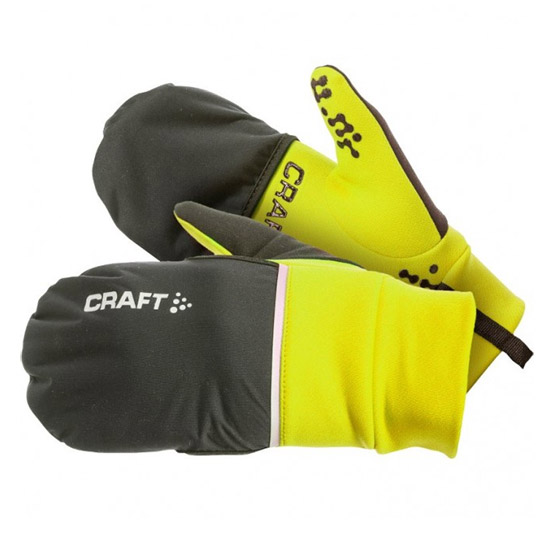 Gants Craft Hybrid Weather 2017 - Jaunes