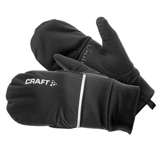 Gants Craft Hybrid Weather 2017 - Noir