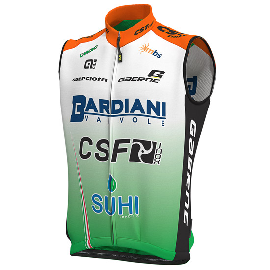 Gilet coupe-vent Bardiani Csf 2019