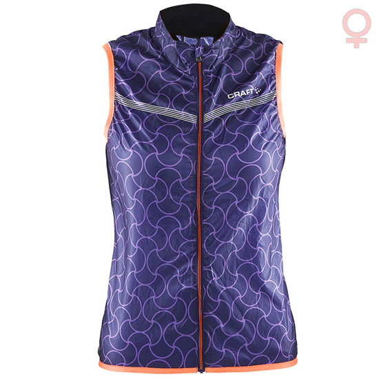 Gilet coupe-vent Craft Featherlight - Violet