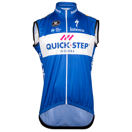 Gilet coupe-vent Quick Step Floors 2018