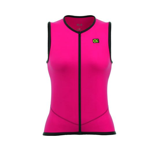 Gilet Ale Icona - Pink Fluo