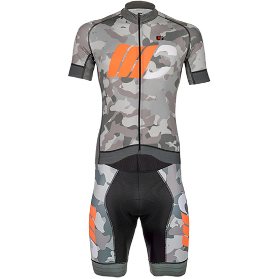 Kit Cipollini Prestige Camo - Gris orange