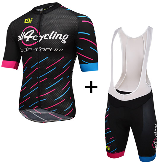 Kit Race Team All4cycling Bdc - Pink