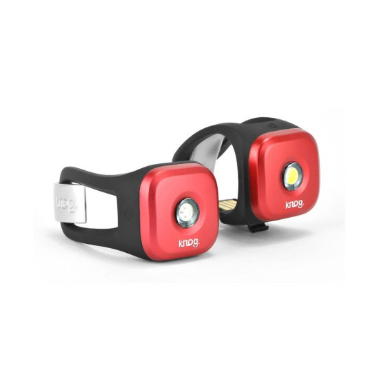 Lumiere Knog Blinder 1 Twinpack - Rouge