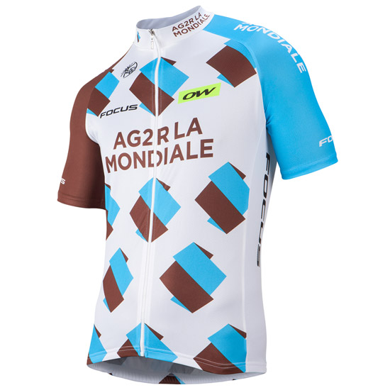 Maillot Ag2R 2016 zip long
