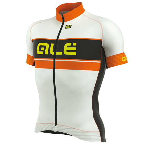 Maillot Ale Graphics PRR Bermuda - Blanc Orange