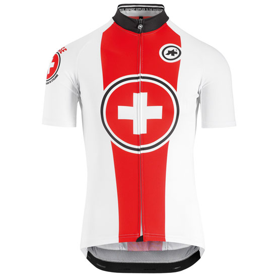 Maillot Assos Suisse Fed