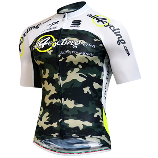 Maillot Bodyfit Summer All4cycling - Bdc Forum Team Camo