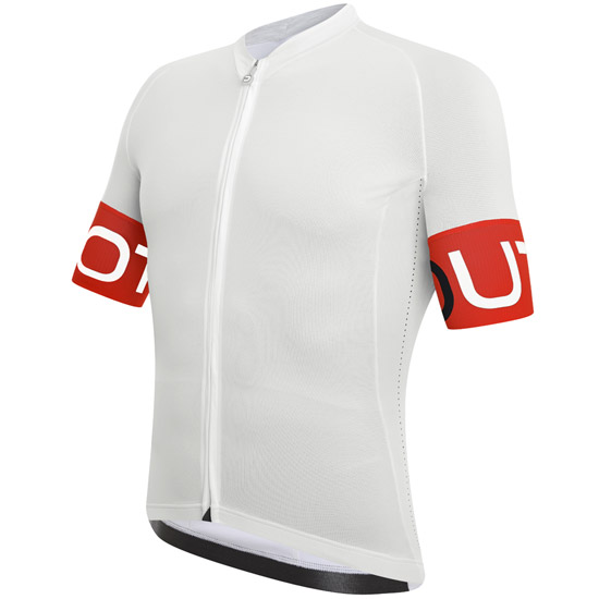Maillot DotOut Pure 15 - Blanc Rouge