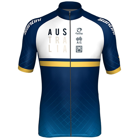 Maillot equipe nationale australienne piste 2018