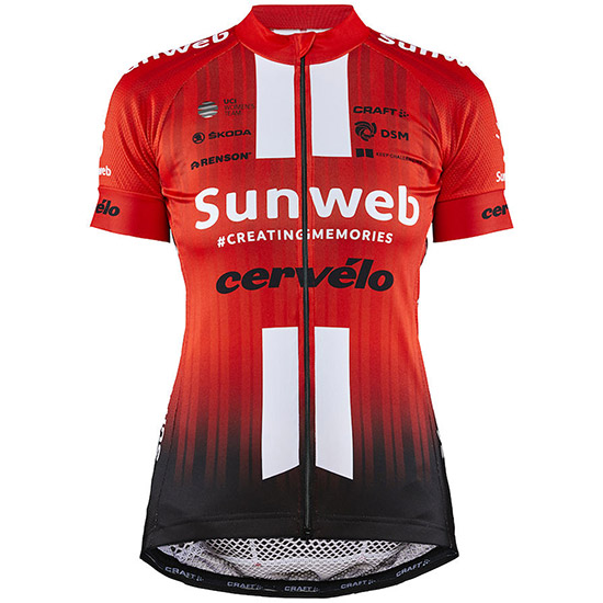 Maillot Craft Sunweb team replica 2019 - Rouje