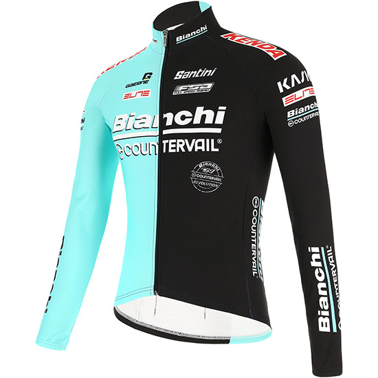 Maillot manches longues Bianchi Countervail 2019