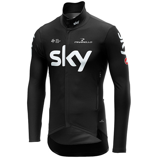 Maillot manches longues Perfetto Team Sky 2019 - Noir