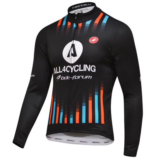 Maillot manches longues Team All4cycling Bdc 2018