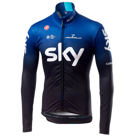Maillot manches longues Thermal Team Sky 2019