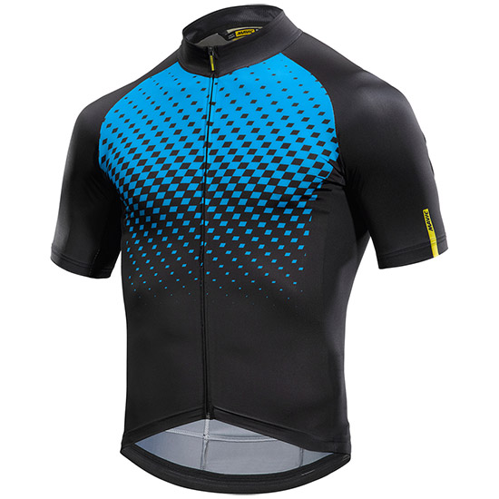 Maillot Mavic Cosmic Graphic - Bleu Noir