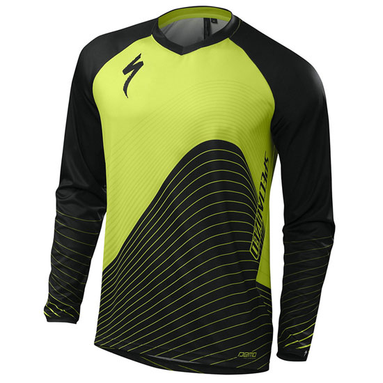 Maillot M/L Specialized Demo Pro - Vert