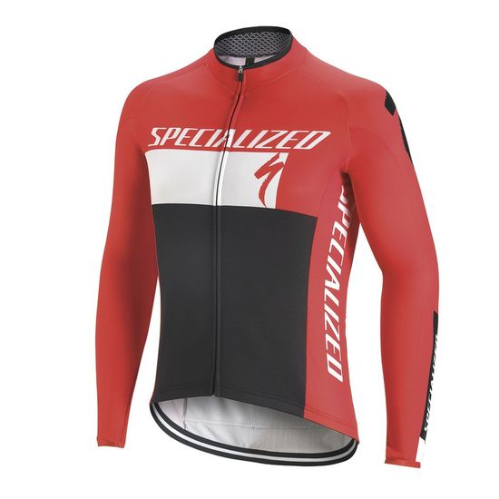 Maillot M/L Specialized Element RBX Comp Logo 2017 - Rouge