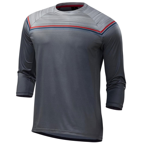 Maillot 3/4 Specialized Enduro Comp - Gris rouge