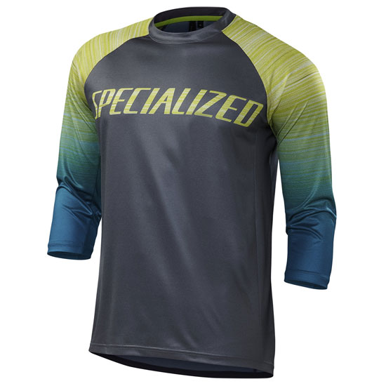 Maillot 3/4 Specialized Enduro Comp - Gris vert