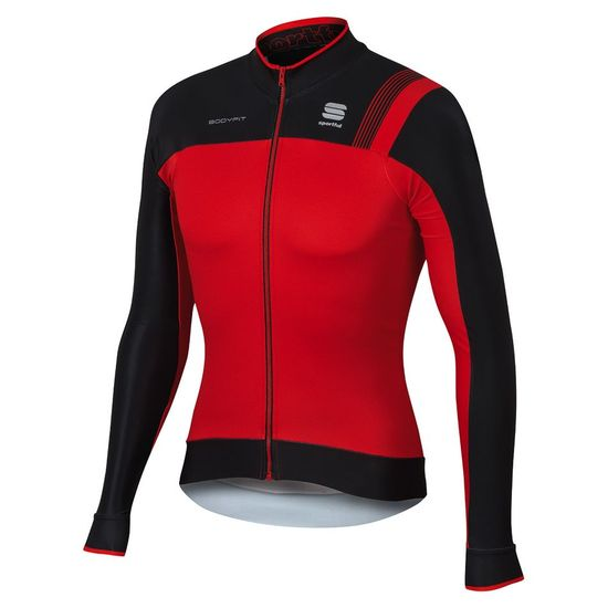 Maillot M/L Sportful Bodyfit Pro Thermal 2017 - Rouge