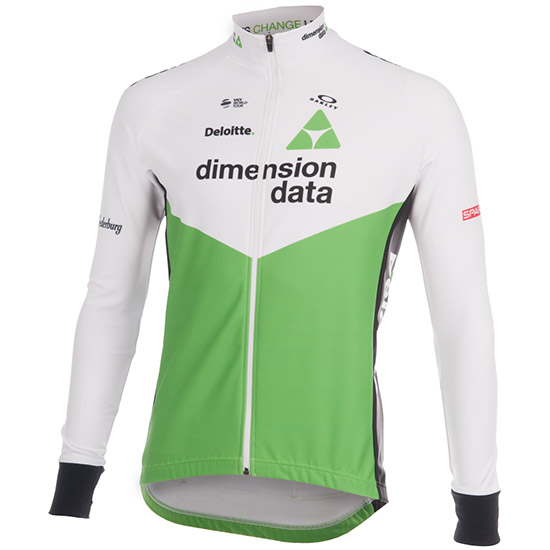 Maillots manches longues Performance Tempest Dimension Data 2018