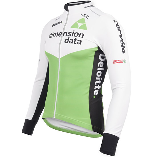Maillots manches longues Race Proven Tempest Dimension Data 2018