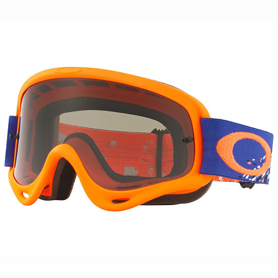 Masque Oakley Maske - Checked Blue Orange Dark Grey