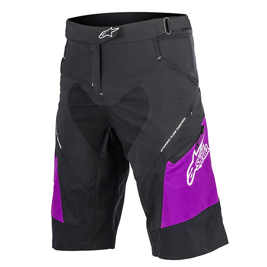 Short Alpinestars Drop 2 - Noir Pourpre