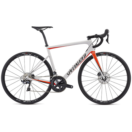 Specialized Tarmac SL6 Disc Comp - Blanc rouge