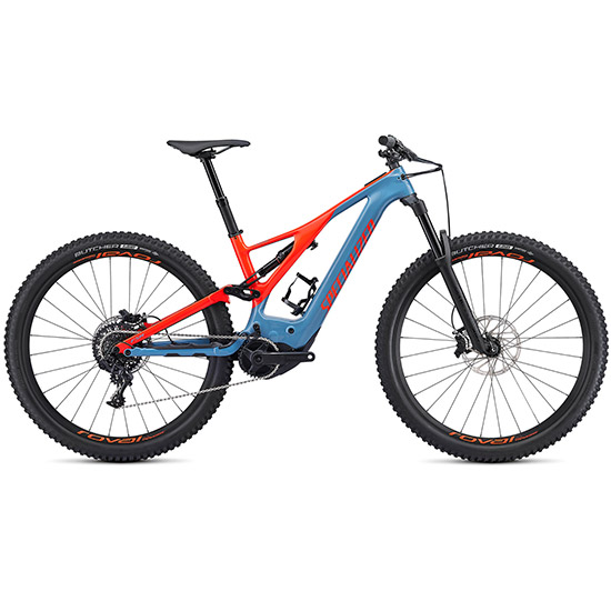 Specialized Turbo Levo FSR Expert Carbon 2019 - Bleu claire rouge