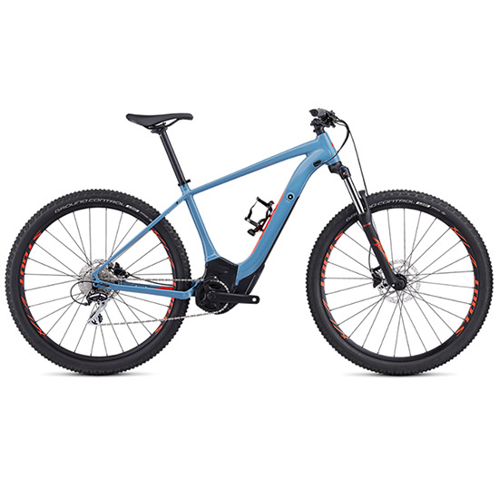 Specialized Turbo Levo Hardtail 2019 - Bleu claire rouge
