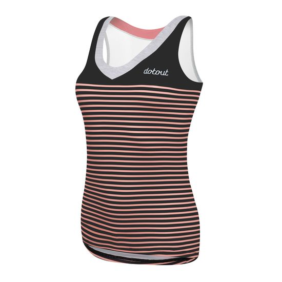 Top DotOut Stripe - Noir