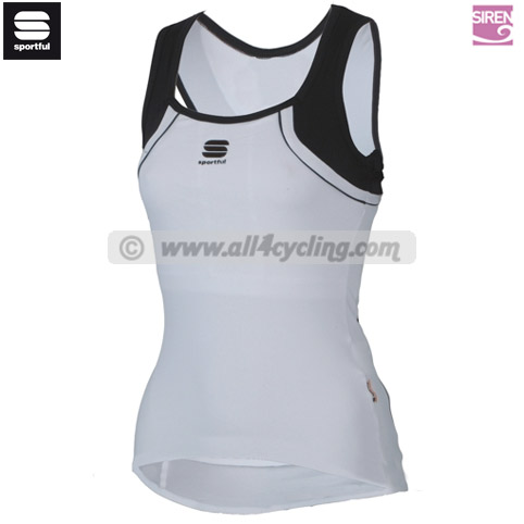 Top Siren Lady Sportful - Blanc/Noir