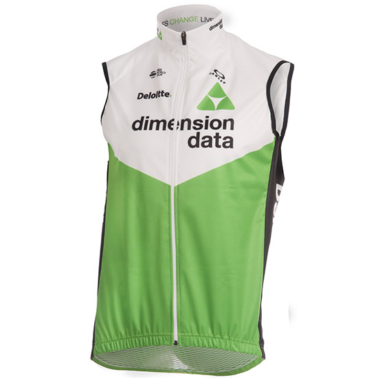 Veste Performance Fit Windblock Dimension Data 2018